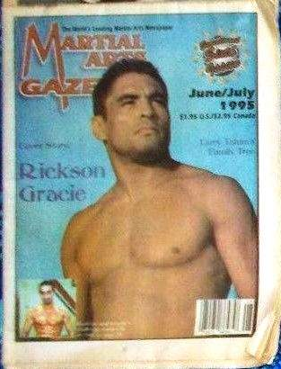 06/95 Martial Arts Gazette Newspaper