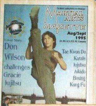 08/95 Martial Arts Gazette Newspaper