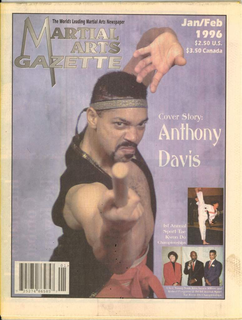 01/96 Martial Arts Gazette Newspaper