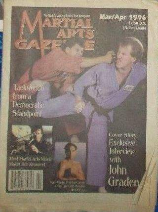 03/96 Martial Arts Gazette Newspaper