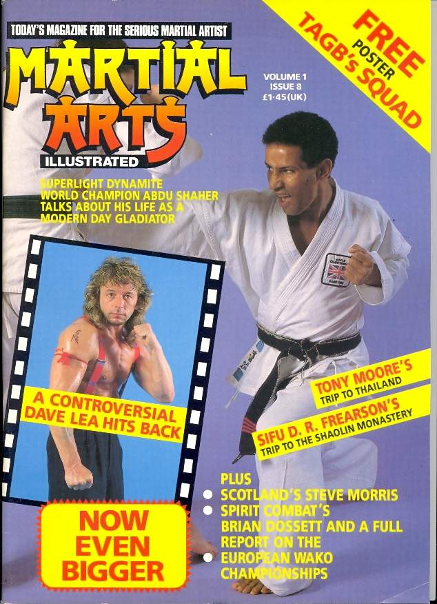 01/89 Martial Arts Illustrated (UK)