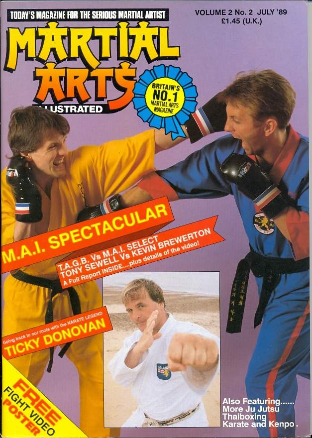 07/89 Martial Arts Illustrated (UK)
