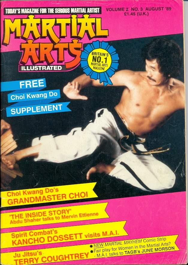 08/89 Martial Arts Illustrated (UK)
