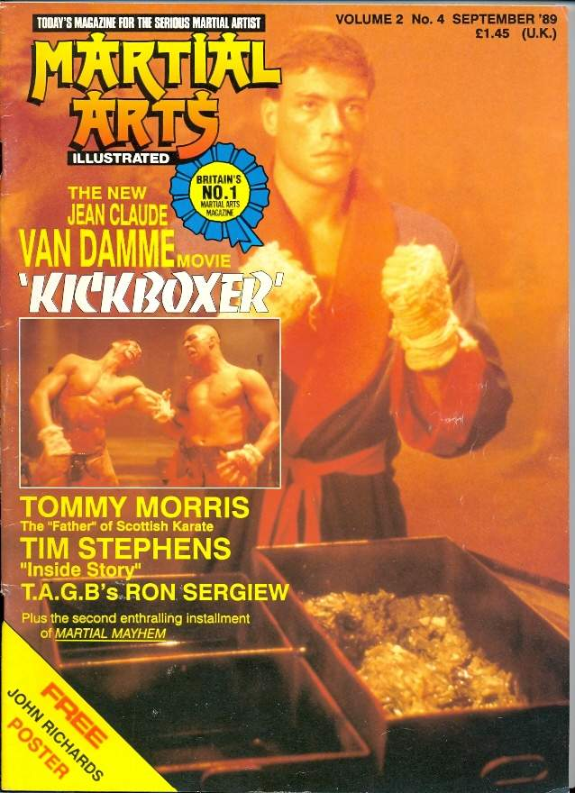 09/89 Martial Arts Illustrated (UK)