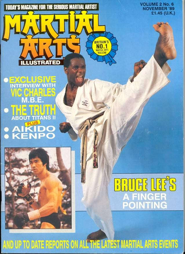 11/89 Martial Arts Illustrated (UK)