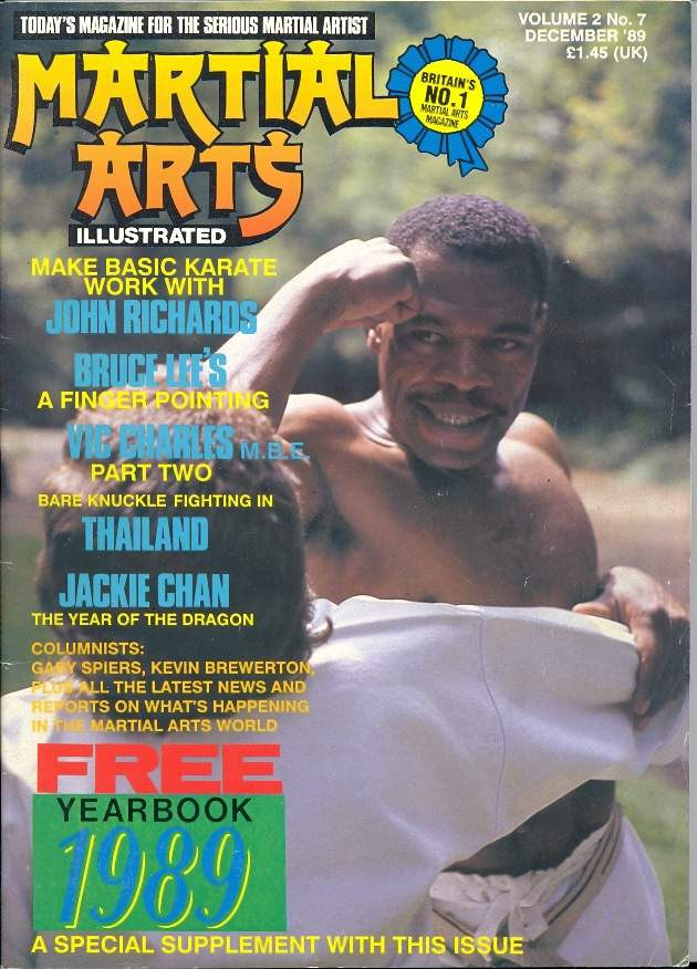 12/89 Martial Arts Illustrated (UK)
