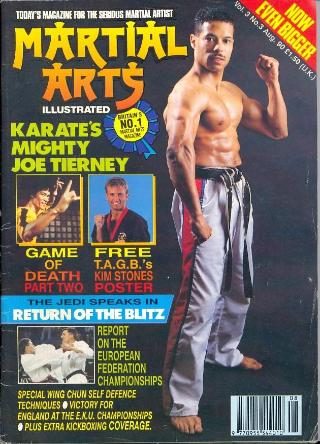 08/90 Martial Arts Illustrated (UK)