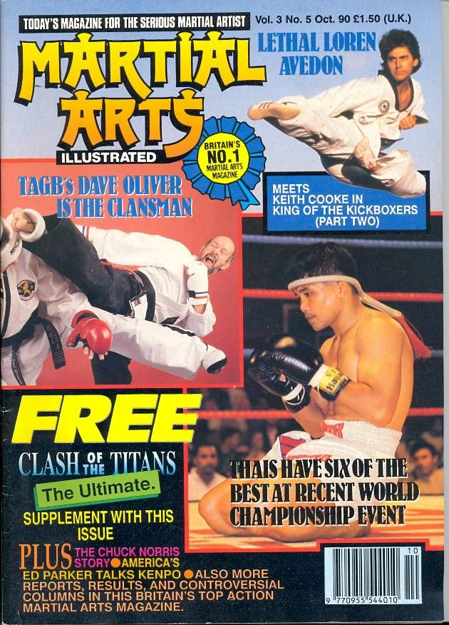 10/90 Martial Arts Illustrated (UK)