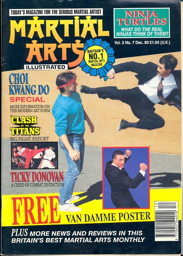 12/90 Martial Arts Illustrated (UK)