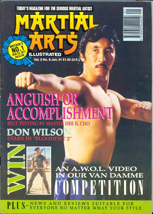 01/91 Martial Arts Illustrated (UK)