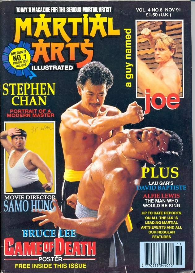 11/91 Martial Arts Illustrated (UK)