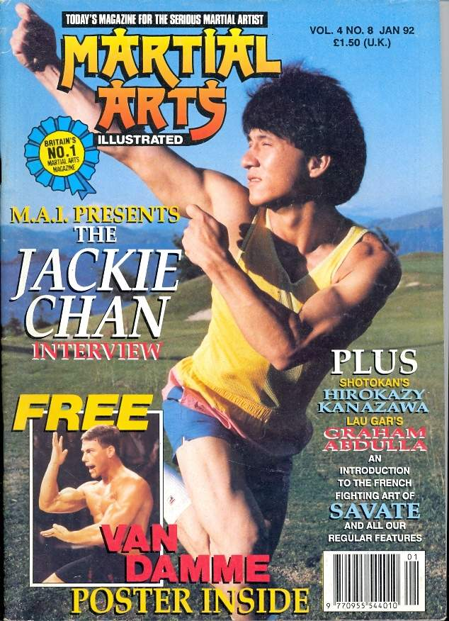 01/92 Martial Arts Illustrated (UK)