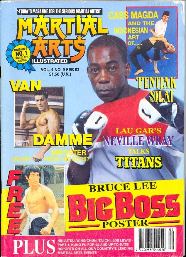 02/92 Martial Arts Illustrated (UK)