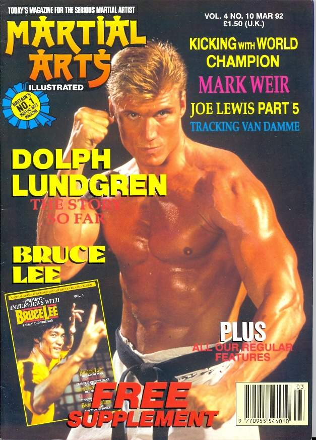 03/92 Martial Arts Illustrated (UK)