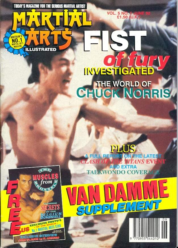 06/92 Martial Arts Illustrated (UK)