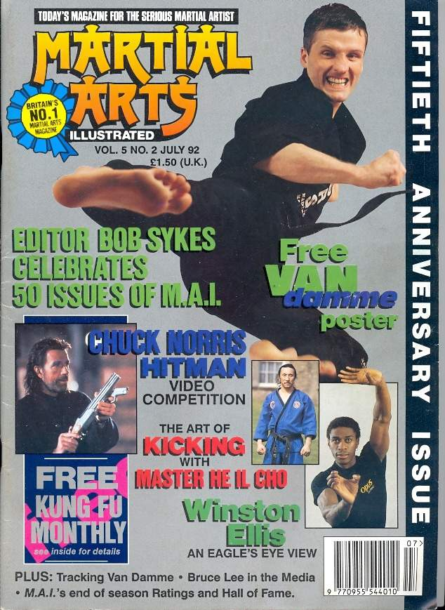 07/92 Martial Arts Illustrated (UK)