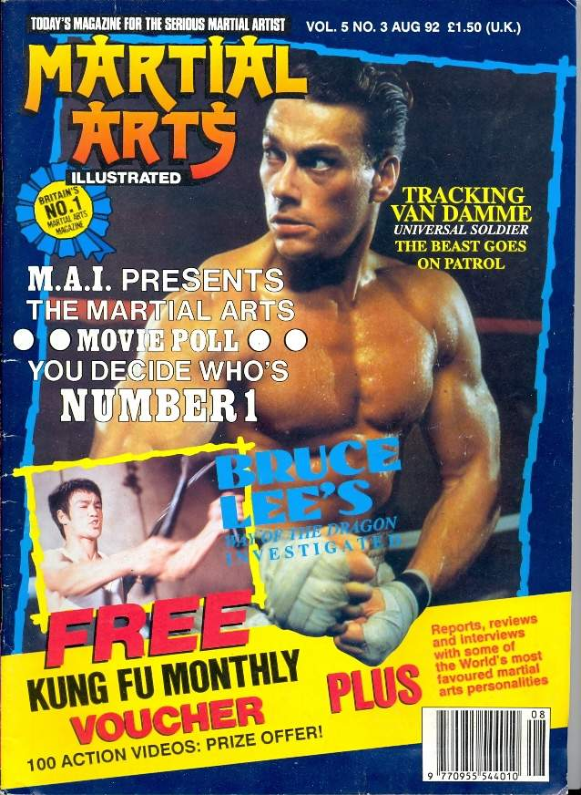 08/92 Martial Arts Illustrated (UK)