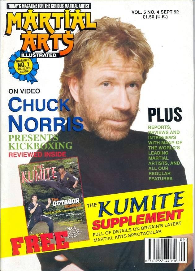 09/92 Martial Arts Illustrated (UK)