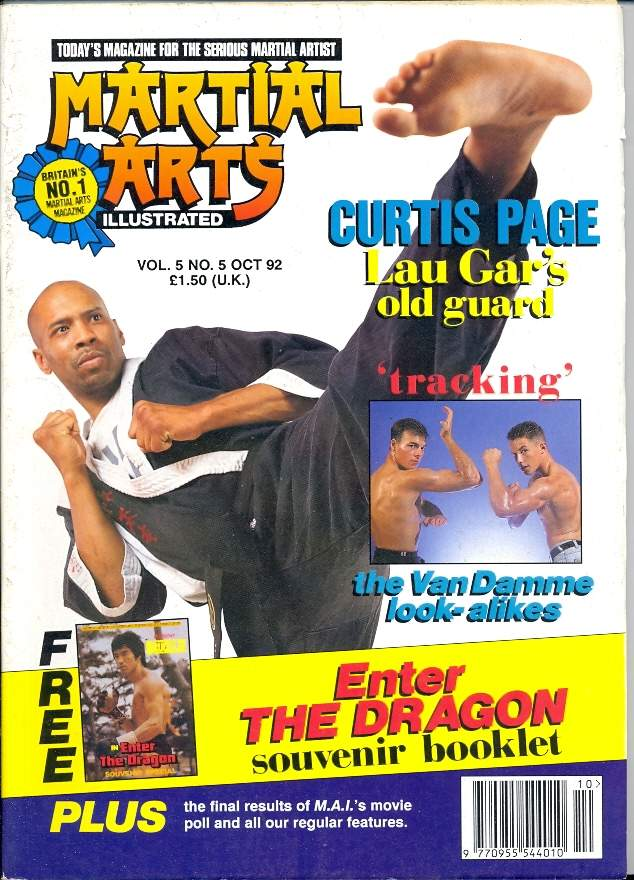 10/92 Martial Arts Illustrated (UK)