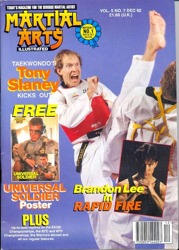 12/92 Martial Arts Illustrated (UK)