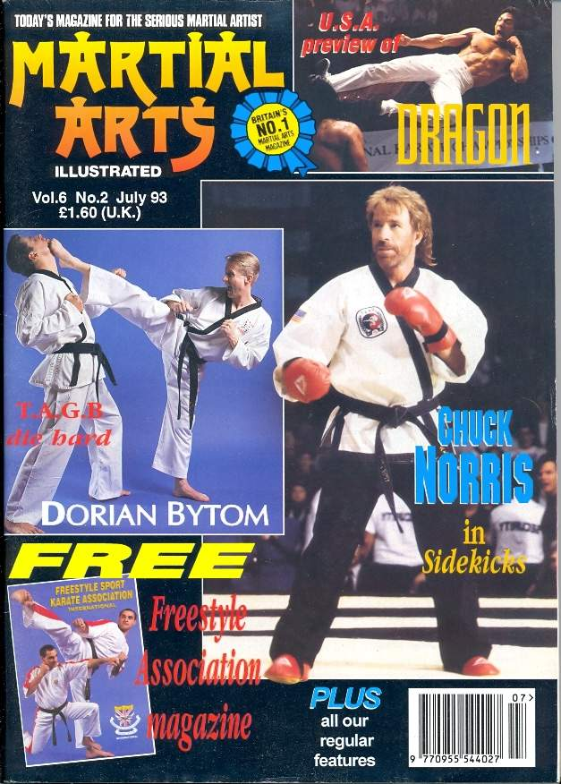 07/93 Martial Arts Illustrated (UK)