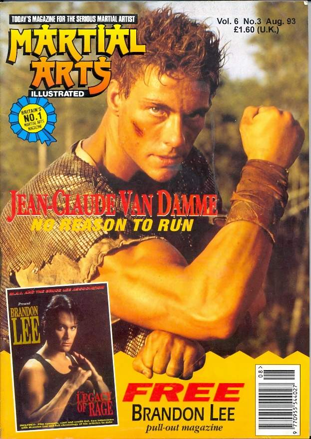 08/93 Martial Arts Illustrated (UK)