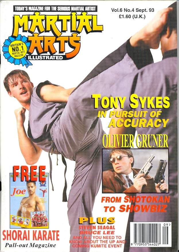09/93 Martial Arts Illustrated (UK)