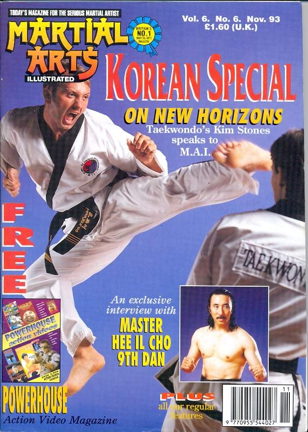 11/93 Martial Arts Illustrated (UK)