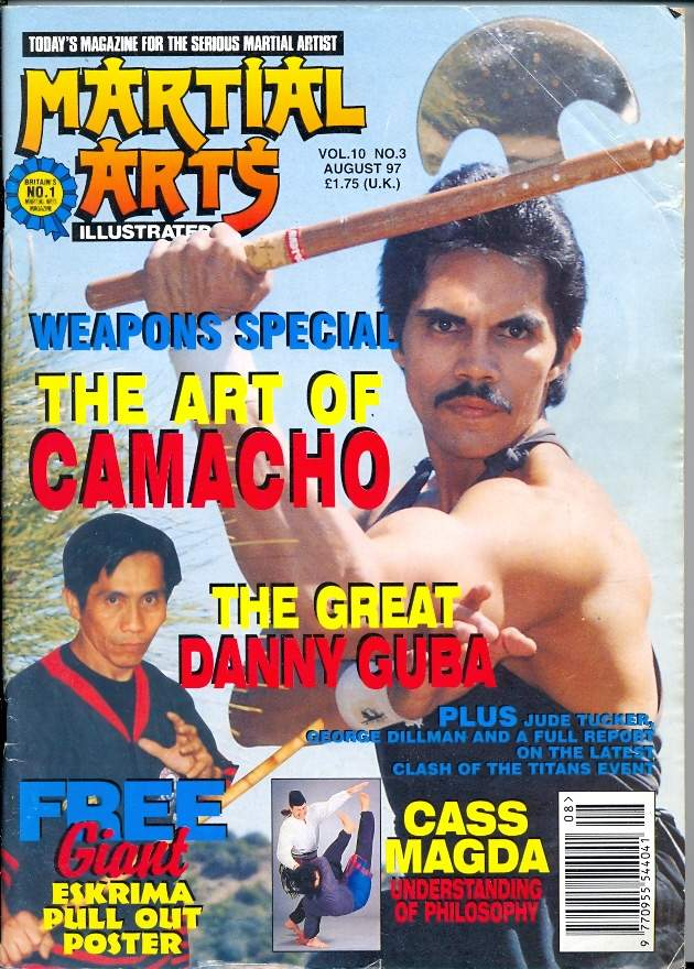 08/97 Martial Arts Illustrated (UK)