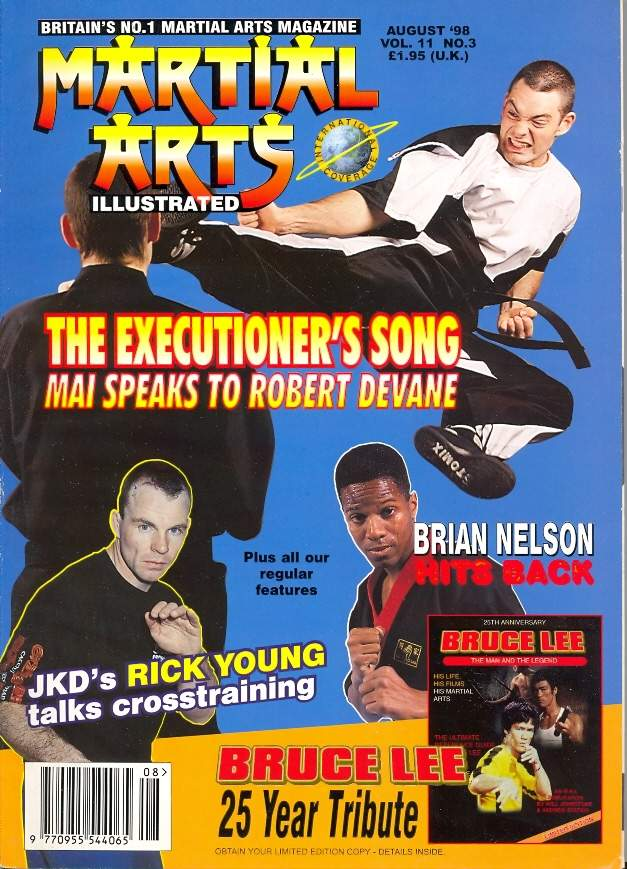 08/98 Martial Arts Illustrated (UK)