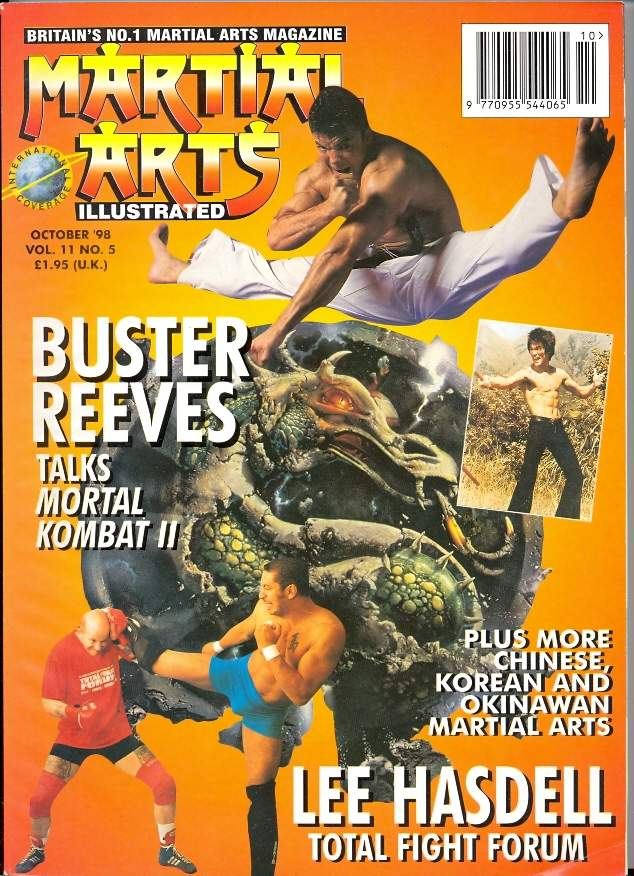 10/98 Martial Arts Illustrated (UK)