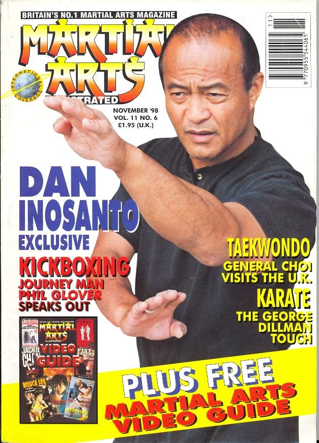 11/98 Martial Arts Illustrated (UK)