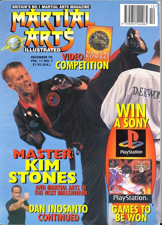 12/98 Martial Arts Illustrated (UK)