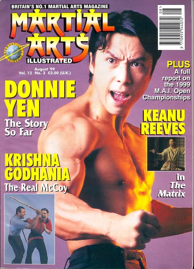 08/99 Martial Arts Illustrated (UK)