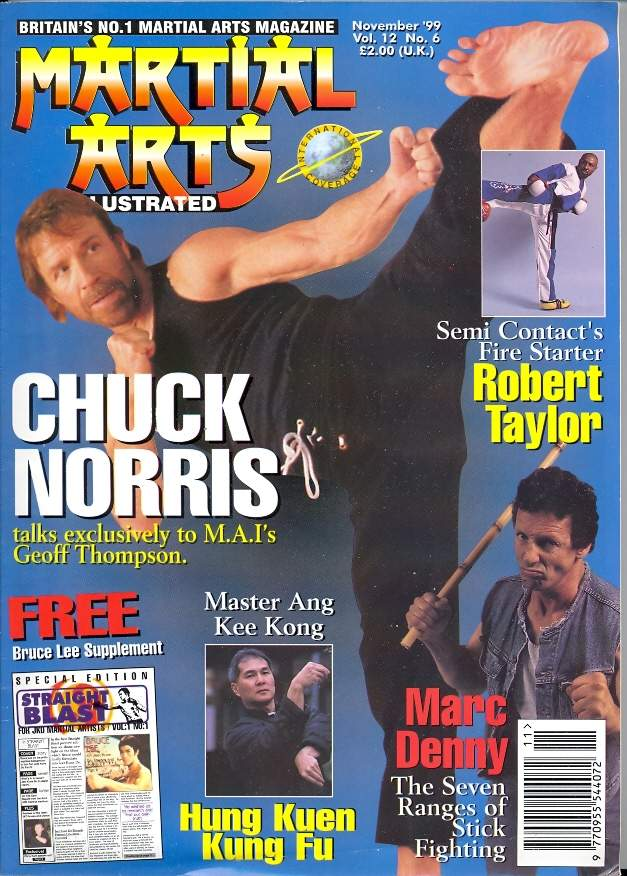 11/99 Martial Arts Illustrated (UK)