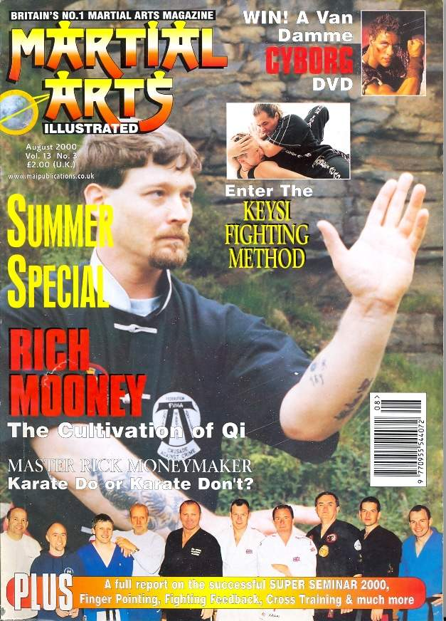 08/00 Martial Arts Illustrated (UK)