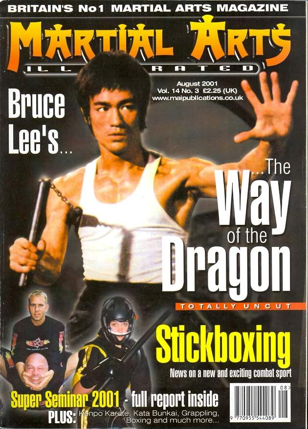 08/01 Martial Arts Illustrated (UK)