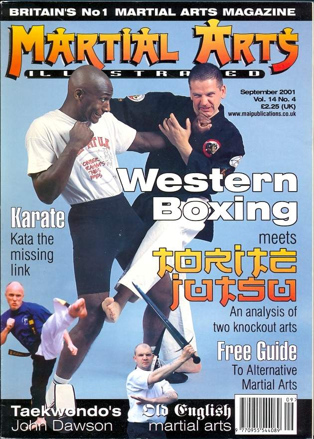 09/01 Martial Arts Illustrated (UK)