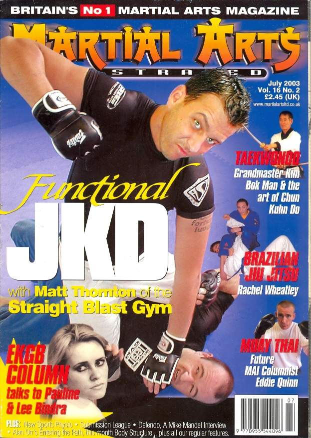 07/03 Martial Arts Illustrated (UK)