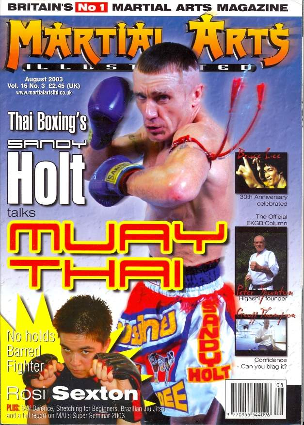08/03 Martial Arts Illustrated (UK)