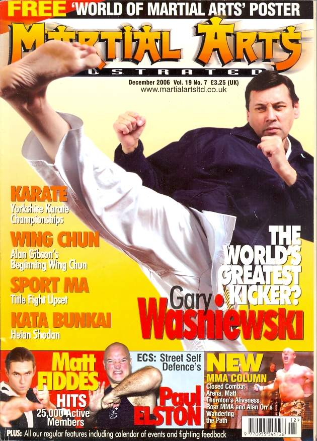 12/06 Martial Arts Illustrated (UK)
