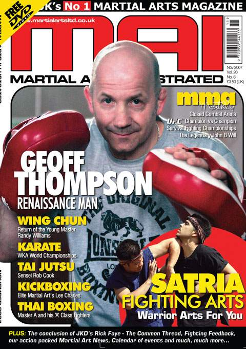 11/07 Martial Arts Illustrated (UK)