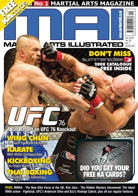12/07 Martial Arts Illustrated (UK)