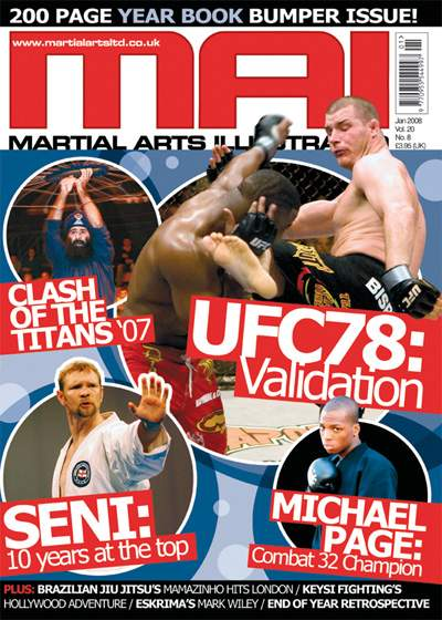 01/08 Martial Arts Illustrated (UK)