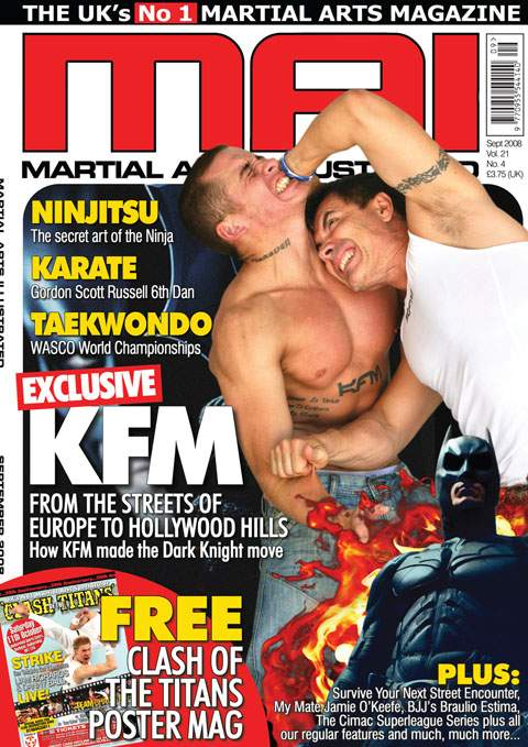 09/08 Martial Arts Illustrated (UK)