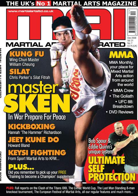 12/08 Martial Arts Illustrated (UK)