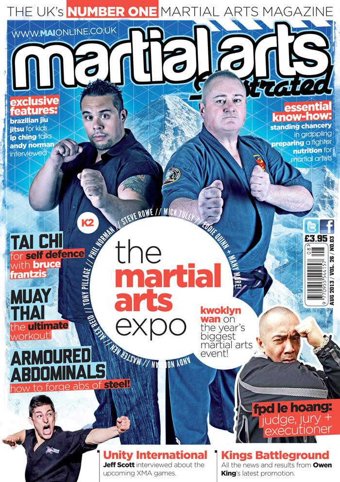 08/13 Martial Arts Illustrated (UK)