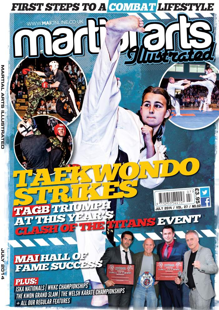07/14 Martial Arts Illustrated (UK)