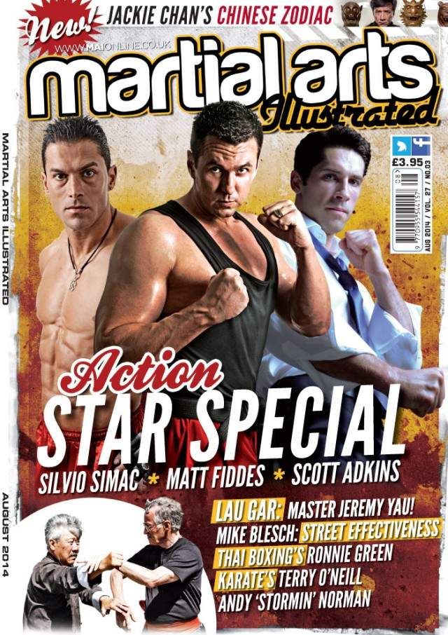 08/14 Martial Arts Illustrated (UK)