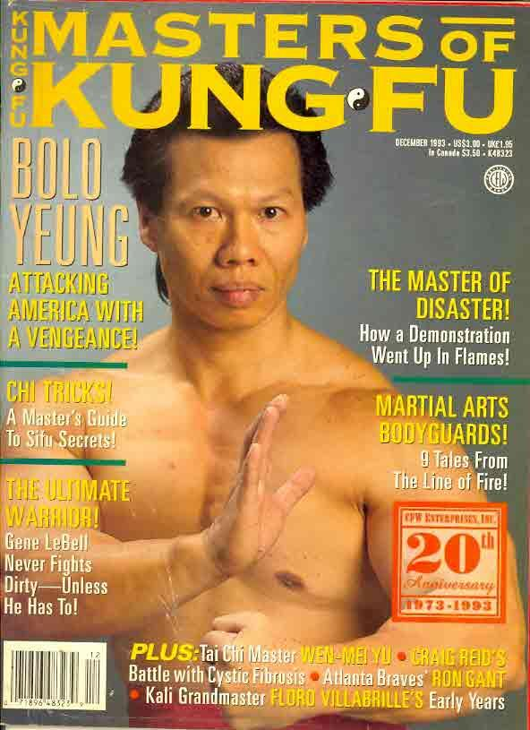 12/93 Masters of Kung Fu